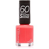 RIMMEL LONDON 60 Seconds Shine Nail Polish 405 Rose Libertine 8 ml - Lak na nechty