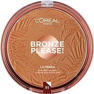 ĽORÉAL PARIS Wake up & Glow La Terra Bronzer 01 Portofino Legger - Bronzer
