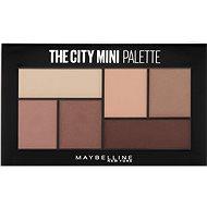 MAYBELLINE NEW YORK City Mini Palette 480 Matte About Town - Paletka očných tieňov