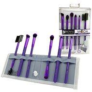 Moda® Beautiful Eyes Purple Brush Kit 7 ks - Sada kozmetických štetcov