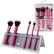 Moda® Perfect Mineral Pink Brush Kit 6 ks - Sada kozmetických štetcov
