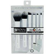 Moda® Total Face White Brush Kit 7 ks - Sada kozmetických štetcov