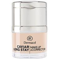 DERMACOL Caviar Long Stay Make-Up & Corrector No.0,0 Ivory 30 ml - Make up