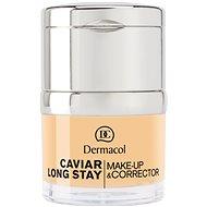DERMACOL Caviar Long Stay Make-Up & Corrector No.0,5 Sand 30 ml - Make up