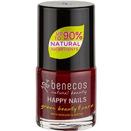 BENECOS Happy Nails Green Beauty & Care cherry red 5 ml - Lak na nechty