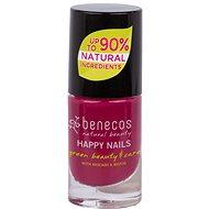 BENECOS Happy Nails Green Beauty & Care wild orchid 5 ml - Lak na nechty