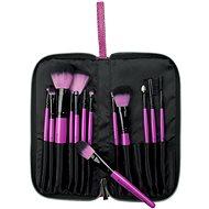 ROYAL & LANGNICKEL Pink Essentials™ Synthetic Travel Kit 13 pc - Sada kozmetických štetcov