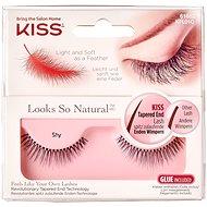 KISS Look So Natural Lash – Shy - Nalepovacie mihalnice