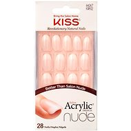 KISS Salon Acrylic Nude Nails – Graceful - Umelé nechty
