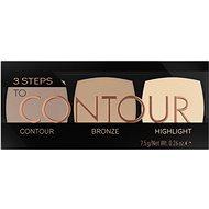 CATRICE 3 Steps To Contour Palette 010 7,5g - Contour pallete