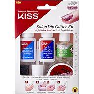 KISS Salon Dip Glitter Kit - Umelé nechty