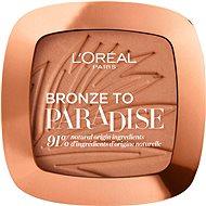 ĽORÉAL PARIS Skin Paradise Bronze to Paradise 02 Baby One More Tan Bronzer 9 g