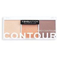REVOLUTION Relove Colour Play Trio Bronze Sugar 6g - Contour pallete