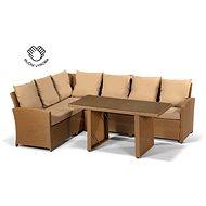 Designlink FAMILY RELAX cappuccino - Záhradný nábytok