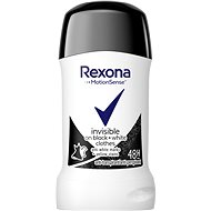 REXONA Invisible Black + White 40 ml - Dámsky antiperspirant