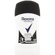 Dámsky antiperspirant REXONA Invisible On Black+White Clothes 40 ml - Dámský antiperspirant