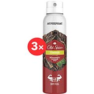 OLD SPICE Timber Sprey Deo 3 × 150 ml