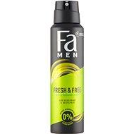FA Men Fresh & Free Mint & Bergamot 150 ml - Pánsky dezodorant