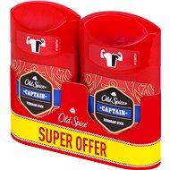 OLD SPICE Captain Deo Pack 2 × 50ml - Men's Deodorant