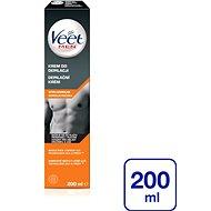 Depilačný krém VEET Men Silk & Fresh Depilačný krém na normálnu pokožku 200 ml - Depilační krém