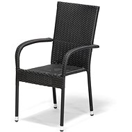 Designlink Záhradná stolička PARIS antracit - Záhradná stolička