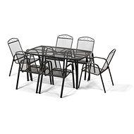 Záhradná súprava ZWMT+ MC stohovateľné stoličky - Záhradný nábytok