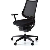 3DE ING Glider 360° čierna - Kancelárska stolička