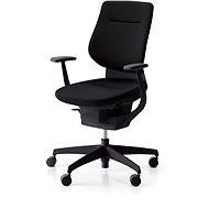 3DE ING Glider 360° čierna – čalúnená - Kancelárska stolička