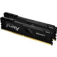 Operačná pamäť Kingston FURY 16 GB KIT DDR4 2666 MHz CL16 Beast Black