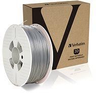 Verbatim PLA 1,75 mm 1 kg strieborná - Filament