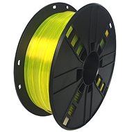 Gembird Filament PETG žltá - Tlačová struna