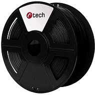 C-TECH Filament PLA čierna