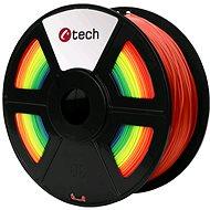 C-TECH Filament PLA dúha