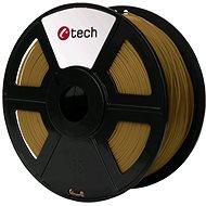 C-TECH Filament PLA hnedá