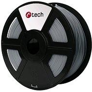 C-TECH Filament PLA svetlo sivá