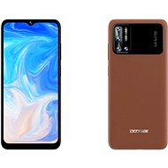 Doogee N40 128 GB hnedý - Mobilný telefón
