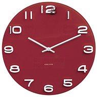 KARLSSON 5640RD - Nástenné hodiny