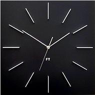 FUTURE TIME Square Black FT1010BK - Nástenné hodiny