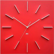 FUTURE TIME Square Red FT1010RD - Nástenné hodiny