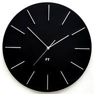FUTURE TIME Round Black FT2010BK - Nástenné hodiny