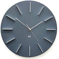 FUTURE TIME Round Gray FT2010GY - Nástenné hodiny