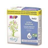 HiPP Babysanft Ultra Sensitive 4x52 ks - Detské vlhčené obrúsky