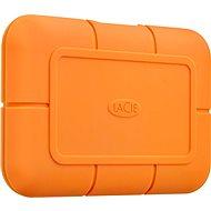 Lacie Rugged SSD 500 GB, oranžový - Externý disk