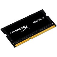 HyperX SO-DIMM 4 GB DDR3L 1600 MHz Impact CL9 Dual Voltage Black Series