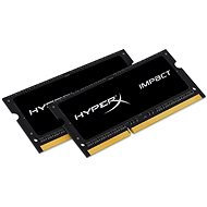HyperX SO-DIMM 8 GB KIT DDR3L 1600 MHz Impact CL9 Dual Voltage - Operačná pamäť