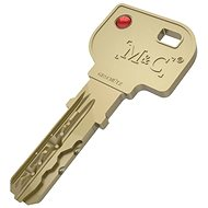 Náhradný kľúč k cylindrickej vložke M&C pre Danalock - Kľúče