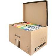 DONAU s vrchným otváraním, hnedý - Archivačná škatuľa