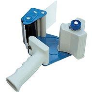 DONAU 50 mm, sivo-modrý - Odvíjač lepiacej pásky