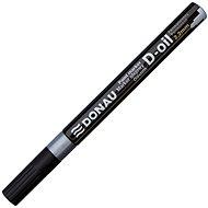 DONAU D-OIL 2,2 mm, strieborný - Popisovač