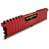 Corsair 8 GB KIT DDR4 3000 MHz CL15 Vengeance LPX červená - Operačná pamäť